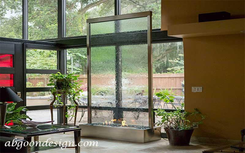 طراحی و نصب آبنما شیشه ای|آبگون دیزاین