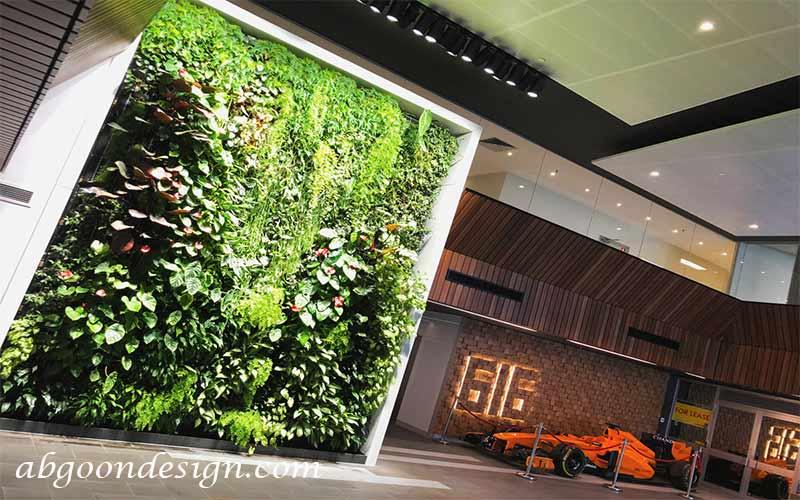 نمونه کار دیوار سبز(گرین وال)|آبگون