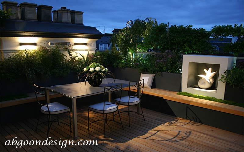 طراحی و اجرای روف گاردن (بام سبز، باغ بام)