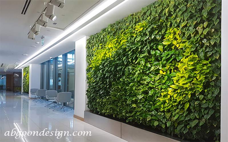 گرین وال-نمونه کار:آبگون دیزاین