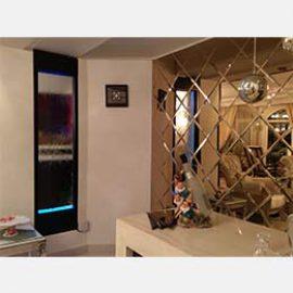 ساخت آبنما شیشه ای در منزل