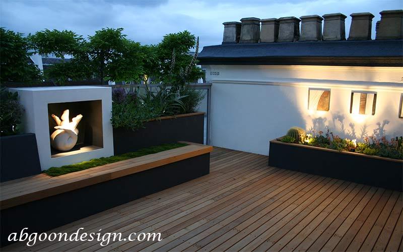 ساخت و اجرای بام سبز|آبگون دیزاین