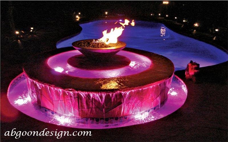 آب و آتش |نمونه کار آبگون دیزاین