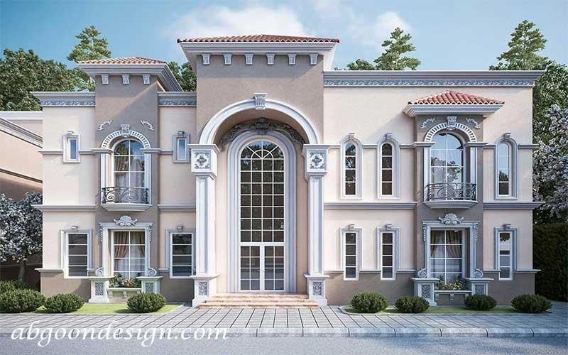 طراحی و ساخت ویلا کلاسیک|آبگون دیزاین