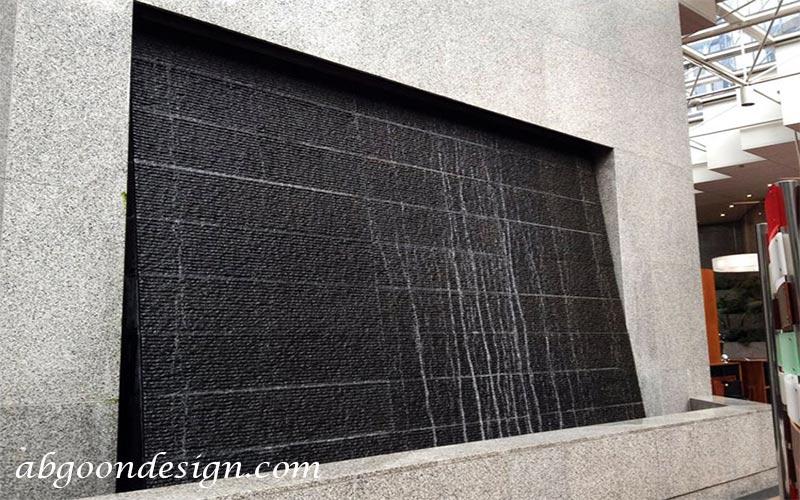 خرید آبنما دیواری-دیوار خیس|آبگون دیزاین