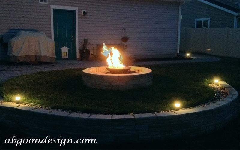 نمونه کار ترکیب آب و آتش در آبنما