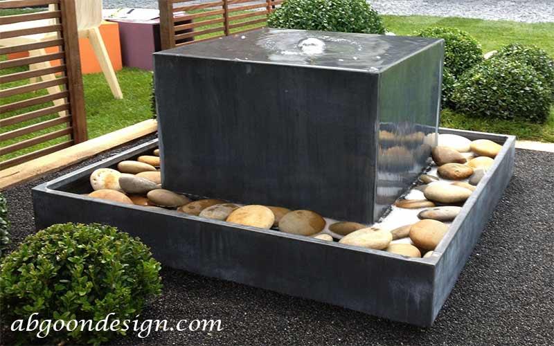طراحی و ساخت آبنما سنگی