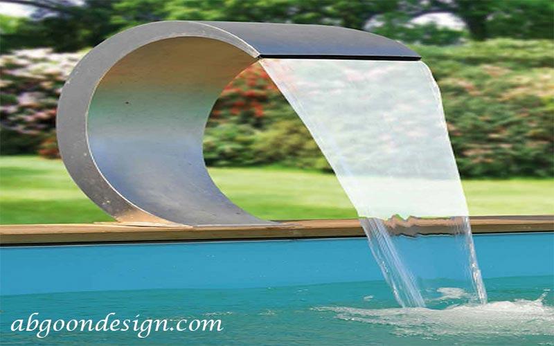 آبنما پرده ای آبگون دیزاین