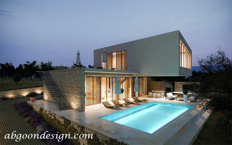 طراحی و ساخت ویلا (کلاسیک و مدرن)