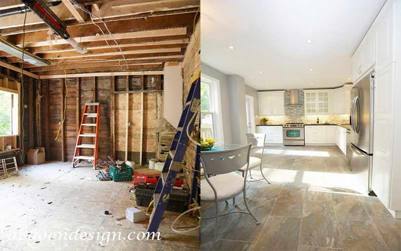 نوسازی و بازسازی ساختمان|آبگون دیزاین