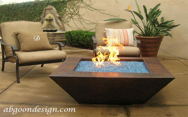 آبنما آب و آتش بسیار زیبا|آبگون دیزاین