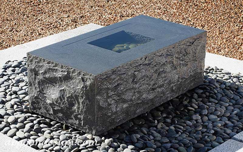 ساخت و اجرای آبنما سنگی |آبگون دیزاین
