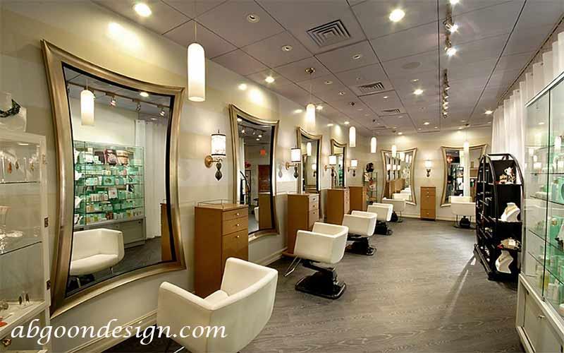 طراحی دکوراسیون سالن زیبایی|آبگون دیزاین