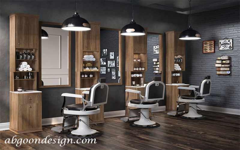 دیزاین داخلی آرایشگاه زنانه|آبگون دیزاین