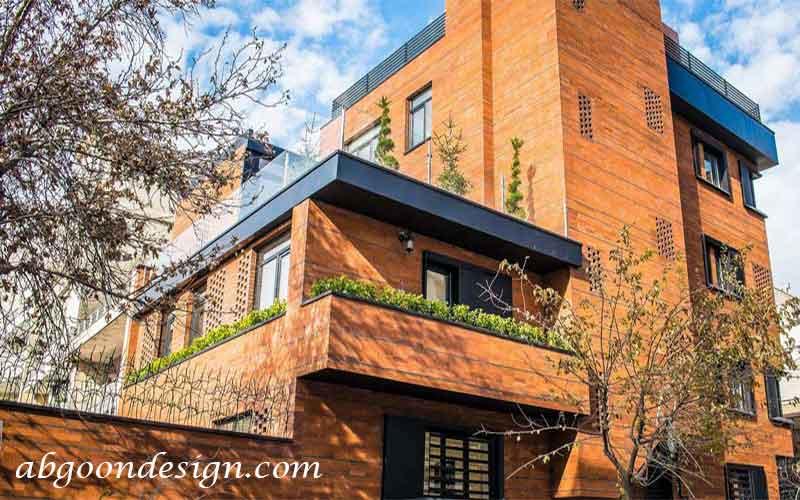طراحی نمای ساختمان|آبگون
