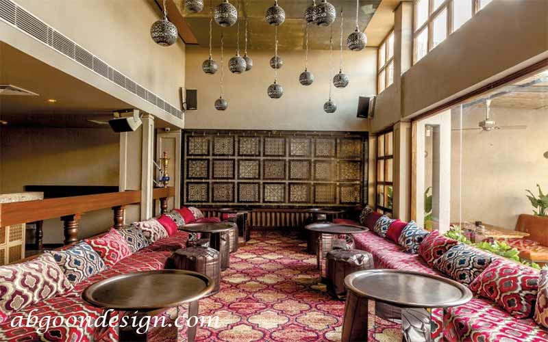 دکوراسیون داخلی رستوران مراکشی