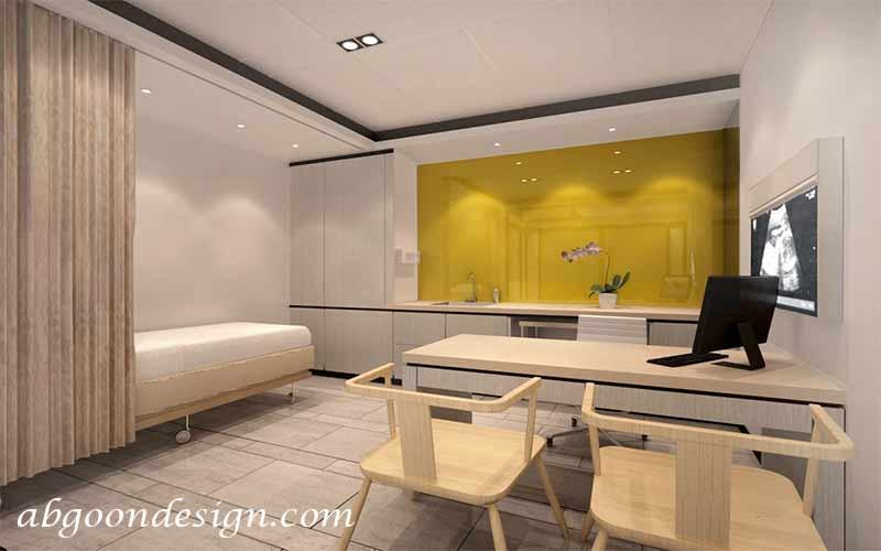 طراحی داخلی مطب و کلینیک|آبگون