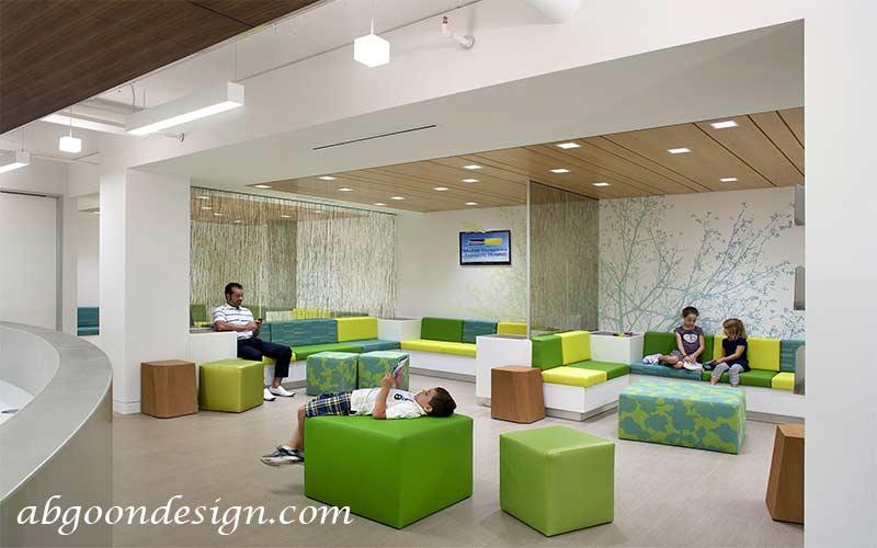 طراحی داخلی مطب و کلینیک