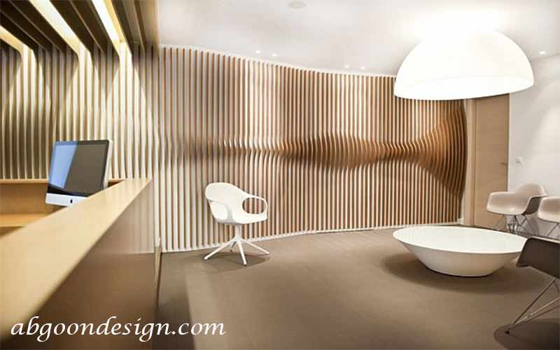 طراحی دکوراسیون داخلی مطب و کلینیک|آبگون