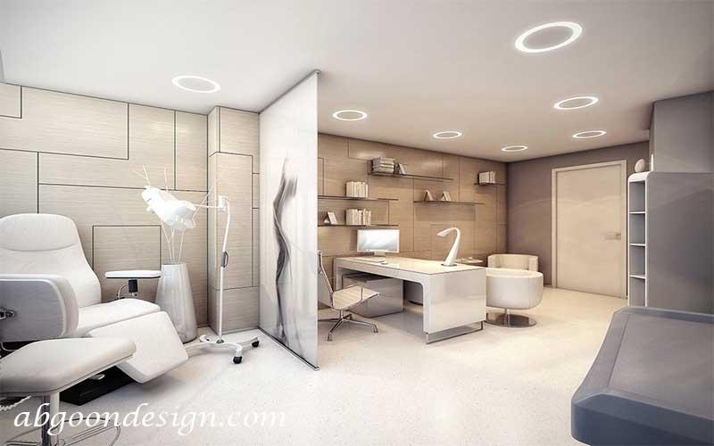 طراحی داخلی دکوراسیون مطب و کلینیک