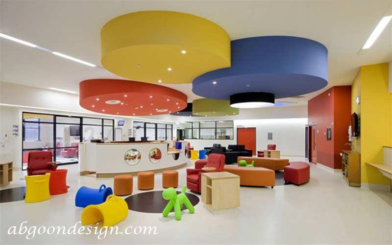 طراحی داخلی کلینیک کودکان