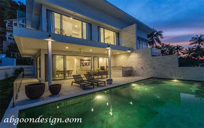 طراحی دکوراسیون خانه ویلایی دوبلکس|آبگون دیزاین