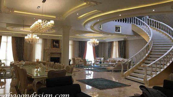 طراحی خانه ویلایی دوبلکس