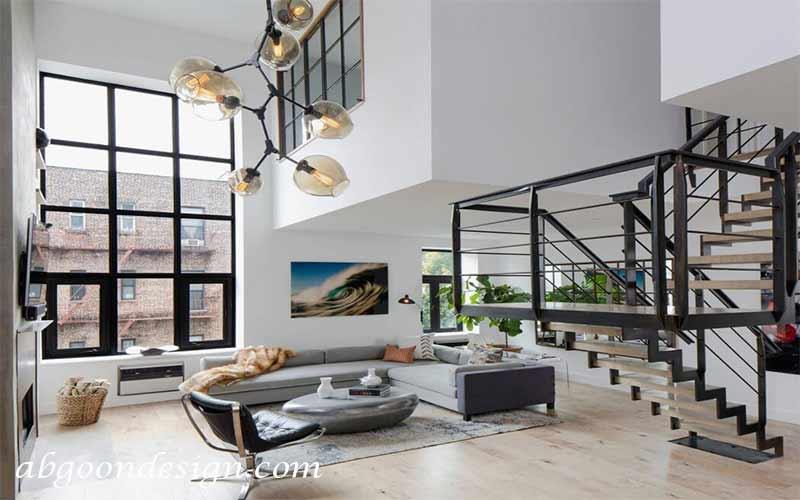 دکوراسیون داخلی خانه ویلایی دوبلکس|آبگون دیزاین