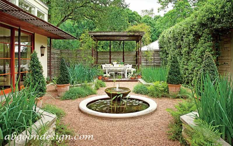 ایده هایی برای حیاط سازی|پآبگون دیزاین