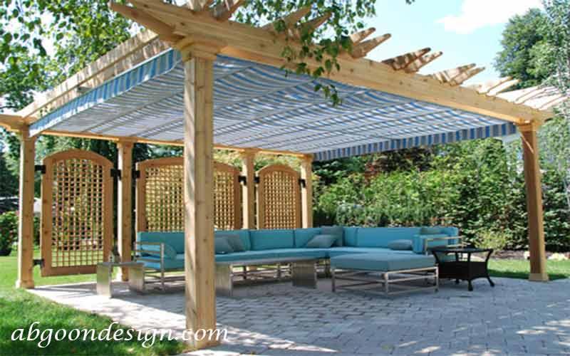 ایده های حیاط سازیپآبگون دیزاین