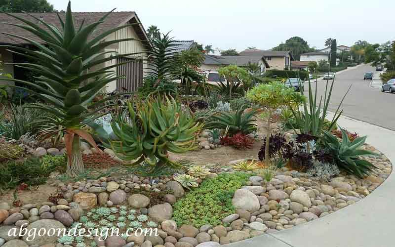 طراحی لبه باغچه با سنگپآبگون دیزاین