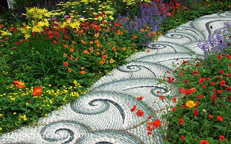 طراحی مسبر باغچه آبگون دیزاین