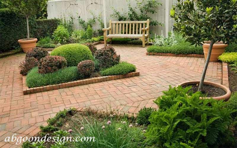 تزیین باغچه آبگون دیزاین