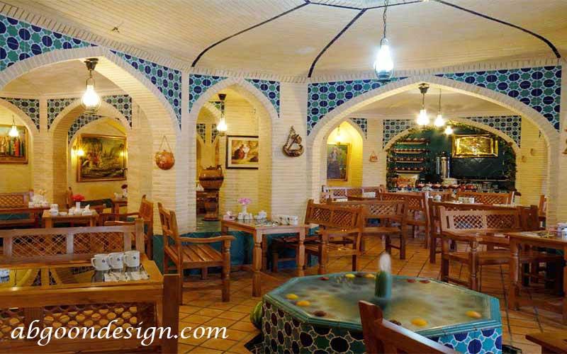دکوراسیون رستوران سنتی|آبگون