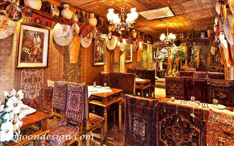 طراحی رستوران سنتی|آبگون دیزاین