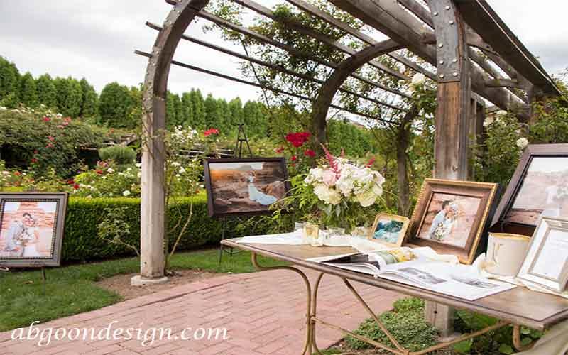 دیزاین باغ عروسی