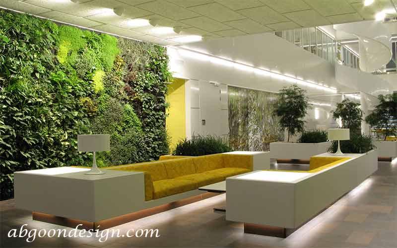 گیاهان مناسب گرین وال|آبگون دیزاین