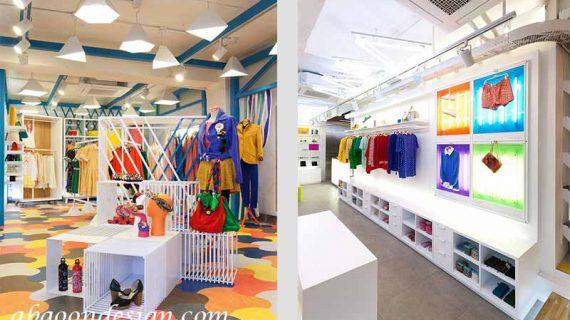 تاثیر رنگ ها در دکوراسیون فروشگاه
