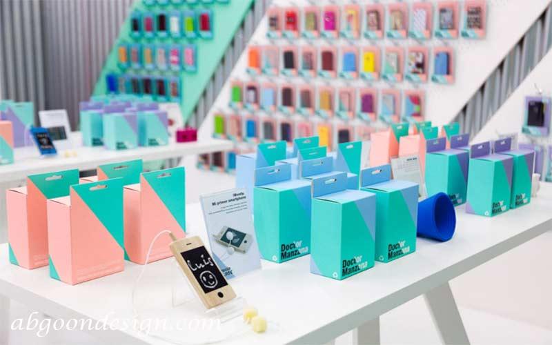 رنگشناسی در دکوراسیون مغازه