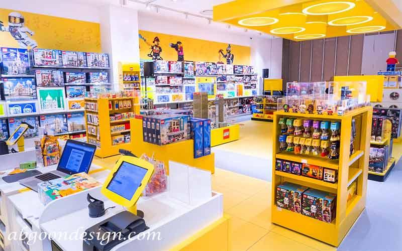 رنگ ها در طراحی داخی فروشگاه|آبگون دیزاین
