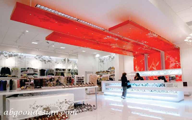 اهمیت رنگ ها در دکوراسیون داخلی مغازه