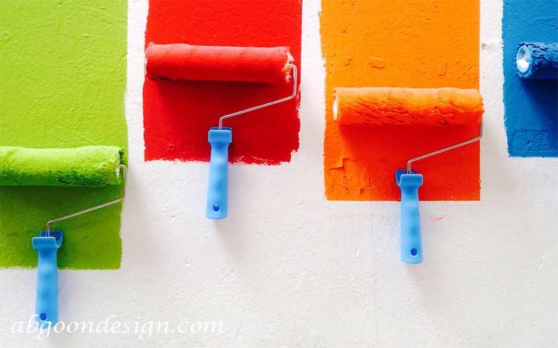 رنگ ها در طراحی داخلی مغازه