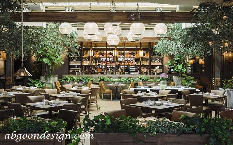 روف گاردن رستوران|آبگون دیزاین