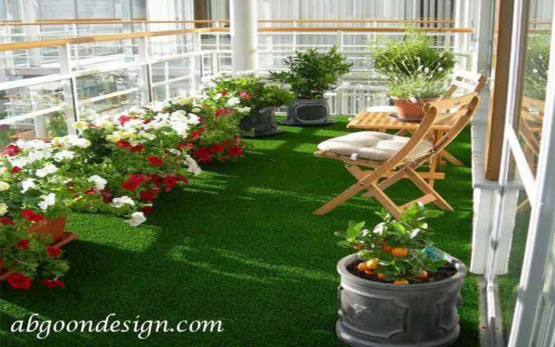 طراحی تراس سبز|آبگون دیزاین