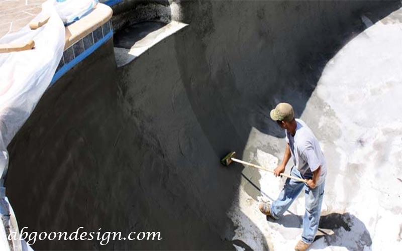 آب بندی استخر|آبگون دیزاین