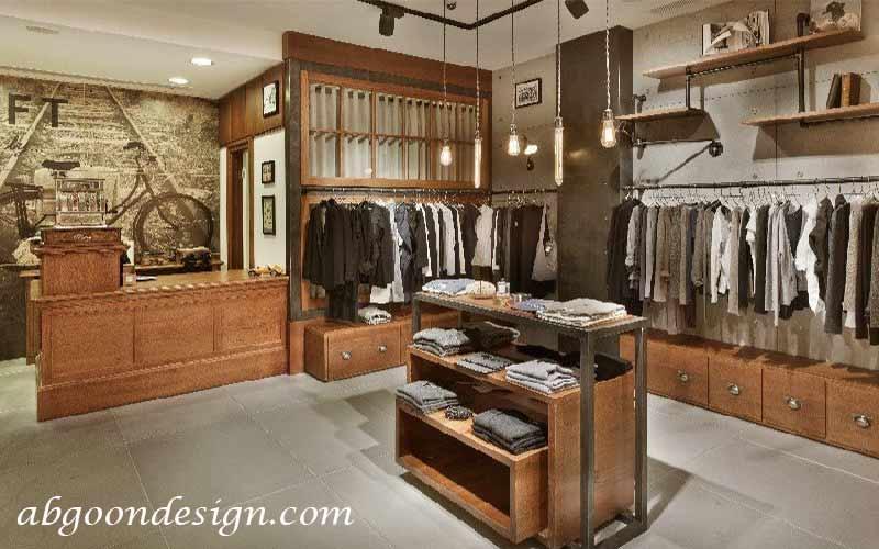 دکوراسیون داخلی مغازه|آبگون دیزاین