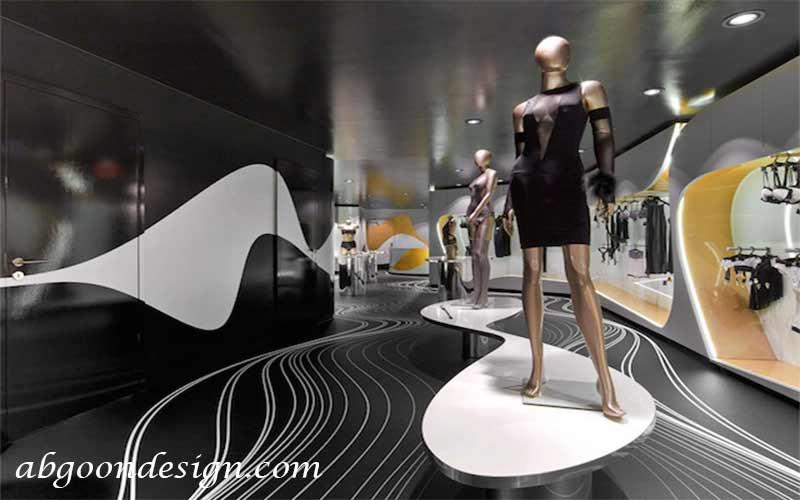 طراحی داخلی مغازه|آبگون دیزاین