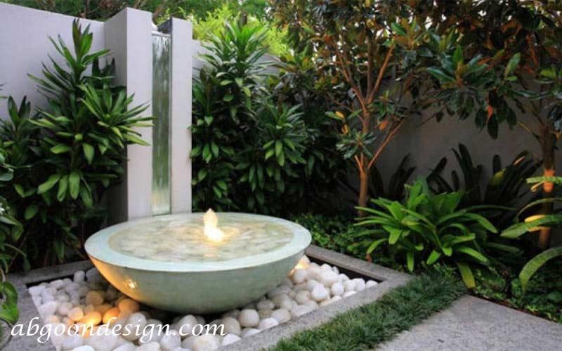 نحوه طراحی محوطه باغ کوک|آبگون دیزاین