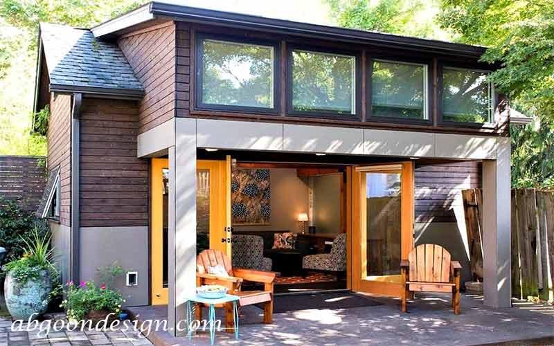 طراحی ویلا چوبی|آبگون دیزاین