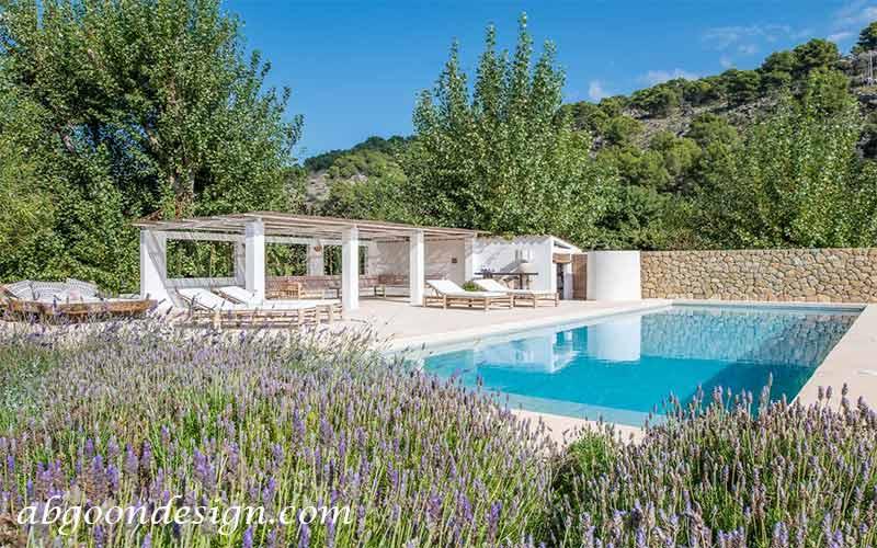هزینه طراحی و ساخت استخر باغ|آبگون دیزاین